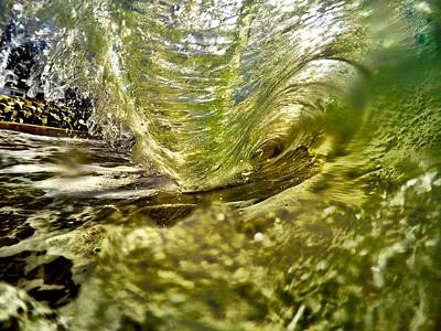 Rincon Beach California Photograph - Living In The Wave by Richard Tachin