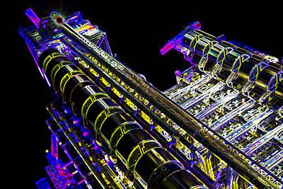 Safari - Lloyds Building London art by David Pyatt