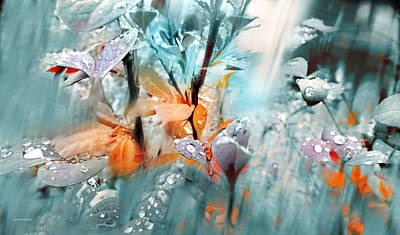 Lluvia Art Print by Alfonso Garcia