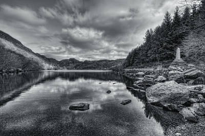 Photograph - Llyn Crafnant by Ian Mitchell