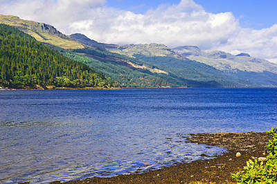 Photograph - Loch Long - Argyll - Scotland by Jane McIlroy