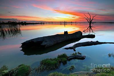 Luna Photograph - Loch Luna Sunset by Bill  Robinson