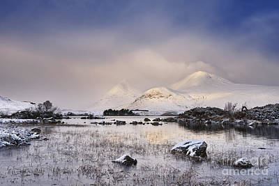 Rannoch Moor Photograph - Lochan Na H-achlaise by Rod McLean