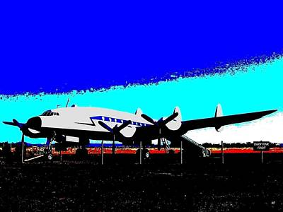 Lockheed Constellation Art Print by Will Borden