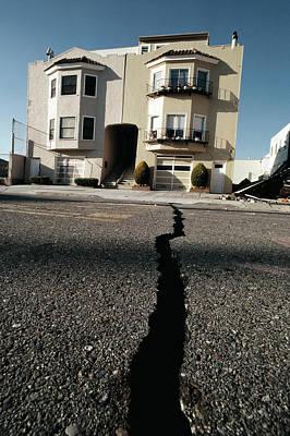 Loma Prieta Earthquake Art Print