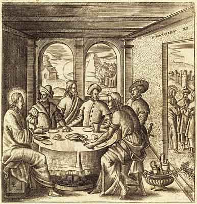 Léonard Gaultier, French 1561-1641, Christ Teaching Art Print
