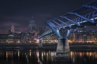 River Thames Photograph - London by Adhemar Duro