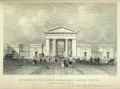 London And Birmingham Railway Art Print by British Library