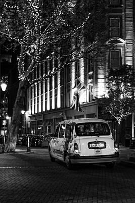 Photograph - London Black Cabs by Alfio Finocchiaro