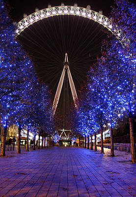 Photograph - London Eye by Stephen Norris