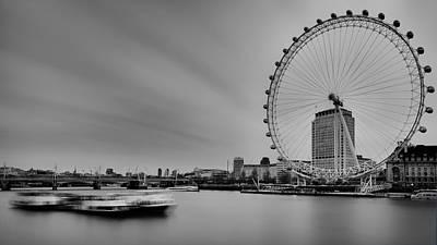 London Eye View Original by Vinicios De Moura