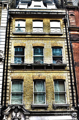 Photograph - London's Windows And Architecture by MaryJane Armstrong