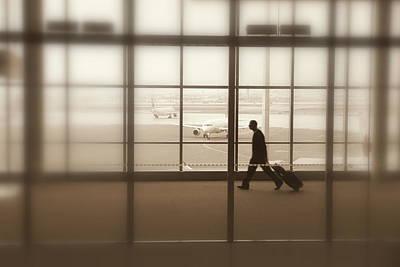 Photograph - Lone Traveler by Valentino Visentini