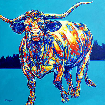 Longhorn Original by Derrick Higgins