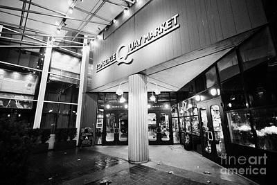 lonsdale quay market shopping mall north Vancouver BC Canada Art Print by Joe Fox