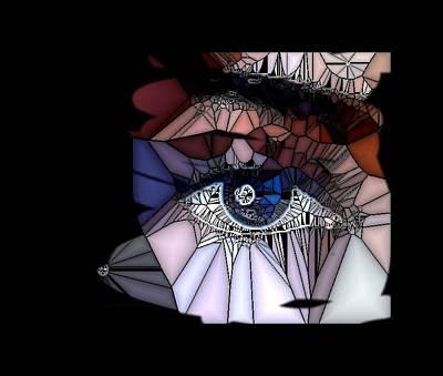 Etc. Digital Art - Looking At You by HollyWood Creation By linda zanini