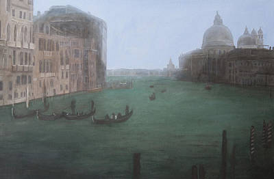 Painting - Looking Down The Grand Canal by Masami Iida