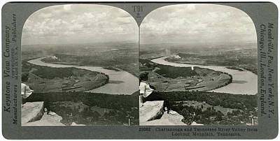 Tennessee River Painting - Lookout Mountain, C1920 by Granger