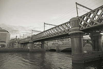 Loopline Bridge Dublin Ireland Art Print by Betsy Knapp