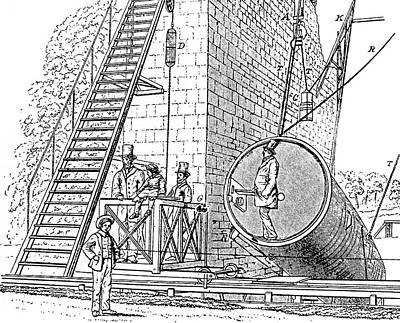 Lord Rosse's Reflecting Telescope Art Print
