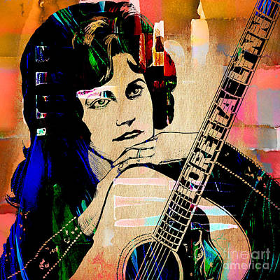 Loretta Lynn Mixed Media - Loretta Lynn Collection by Marvin Blaine