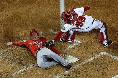 Photograph - Los Angeles Angels Of Anaheim V by Patrick Smith