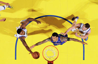 Photograph - Los Angeles Clippers V Golden State by Rocky Widner