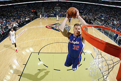 Photograph - Los Angeles Clippers V New Orleans by Layne Murdoch Jr.