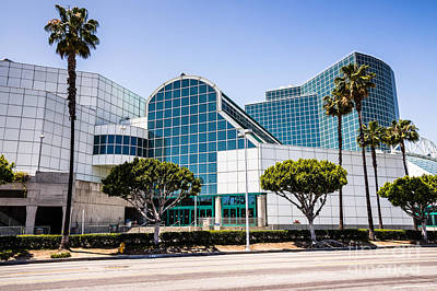 Convention Centers Photograph - Los Angeles Convention Center Picture by Paul Velgos