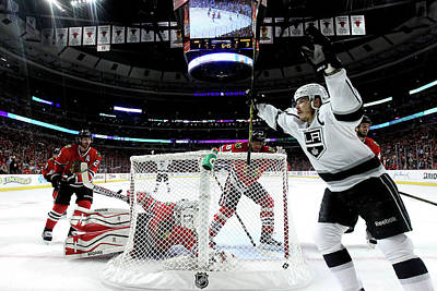 Nhl Photograph - Los Angeles Kings V Chicago Blackhawks by Jonathan Daniel