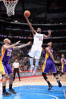 Photograph - Los Angeles Lakers V Los Angeles by Andrew D. Bernstein