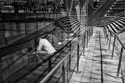Photograph - Lost In Lines by Cornelis Verwaal