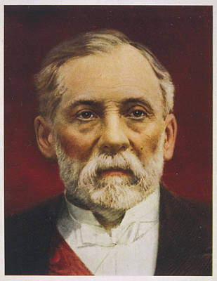 Louis Pasteur (1822 - 1895) French Art Print by Mary Evans Picture Library