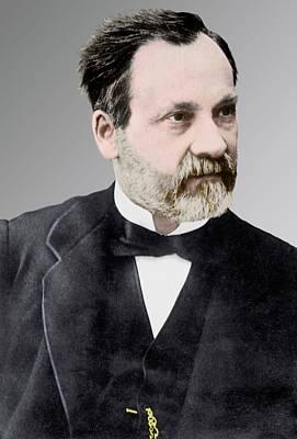Portraits Photograph - Louis Pasteur by Library Of Congress