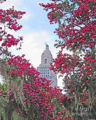 Photograph - Louisiana State Capitol by Lizi Beard-Ward