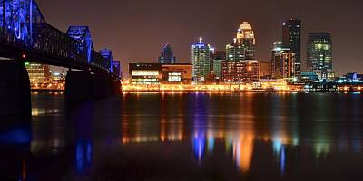 Slugger Photograph - Louisville Kentucky by Frozen in Time Fine Art Photography