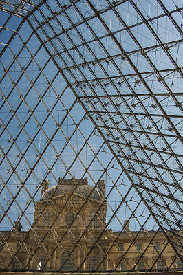 Photograph - Louvre In Paris France by Pam  Elliott