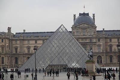 Louvre - Paris France - 011313 Art Print by DC Photographer