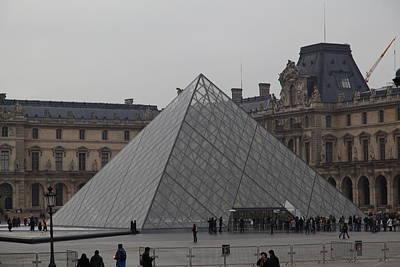 Royal Photograph - Louvre - Paris France - 01132 by DC Photographer