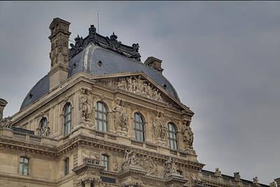 Couple Photograph - Louvre - Paris France - 01138 by DC Photographer