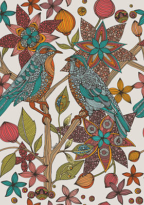Love Birds 2 Art Print