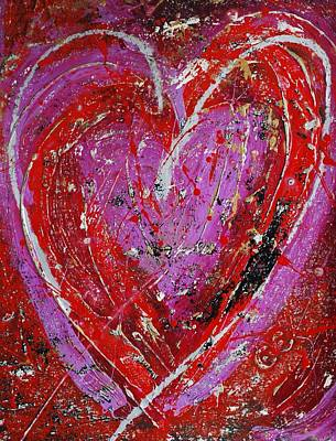 Painting - Love by Cleaster Cotton