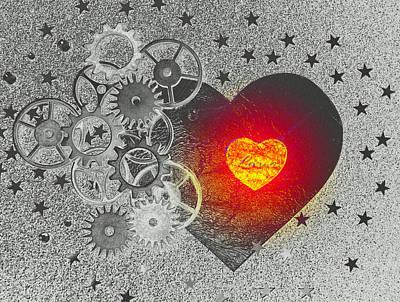Love Makes It Work Art Print