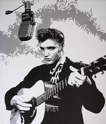 Tribute To Elvis Original by Bitten Kari