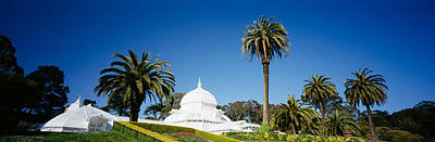 Conservatory Of Flowers Photograph - Low Angle View Of A Building by Panoramic Images