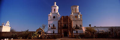 Low Angle View Of A Church, Mission San Art Print by Panoramic Images