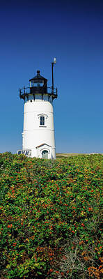 Barnstable Photograph - Low Angle View Of A Lighthouse, Race by Panoramic Images