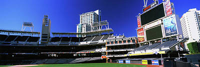 Petco Park Photograph - Low Angle View Of Baseball Park, Petco by Panoramic Images