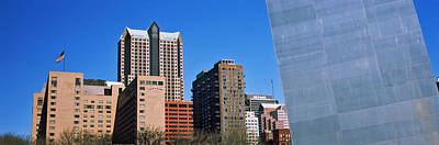 Hyatt Hotel Photograph - Low Angle View Of Buildings, Hyatt by Panoramic Images