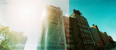 Low Angle View Of Buildings Print by Panoramic Images